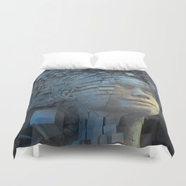 Dissolution of Ego Duvet Cover