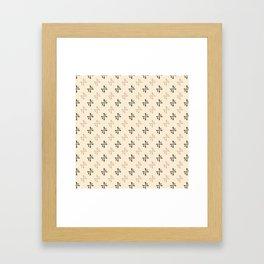 de Clermont vampire symbol Framed Art Print