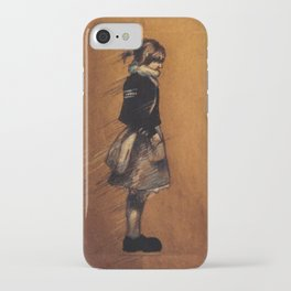 Raven Cycle Character Sketches iPhone Case