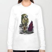 spaceman Long Sleeve T-shirts featuring Spaceman by Mihail.Kosarenin