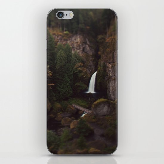 Wahclella Falls iPhone & iPod Skin