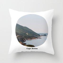 Cape Breton Island - Nova Scotia, Canada Throw Pillow