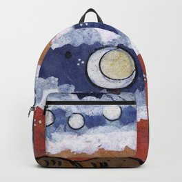If the blue sky is a fantasy, Backpack