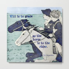 Will and Grace Metal Print