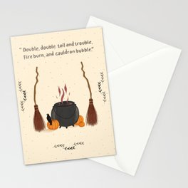 Witch's kitchen Stationery Cards