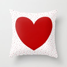 Happy Valentines Day! Throw Pillow