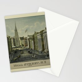 Wall Street 1847 Stationery Cards