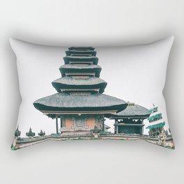 Bali Ulun Danu Temple Rectangular Pillow