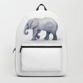 Elephant Watercolor Backpack