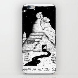 The Night We Felt Like Giants iPhone Skin