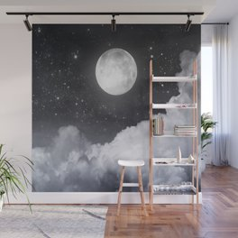Touch of the moon II Wall Mural
