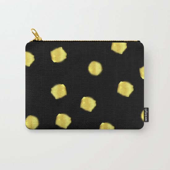 Gold pearls Carry-All Pouch