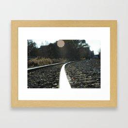 TrackIt Framed Art Print