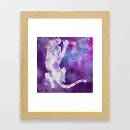 mewniverse Framed Art Print