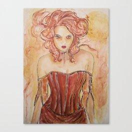 Vampire Gabrielle Canvas Print