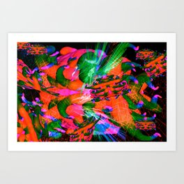 Worm Tumor Colony (Infected) Art Print