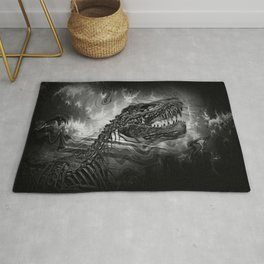 Dinosaur skeleton Rug