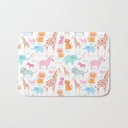 animals baby Bath Mat