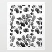 Agate Pattern 2 Art Print