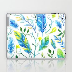 Feathers Pattern 05 Laptop & iPad Skin