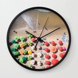 Sunday Somewhere Wall Clock