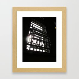 Light My Cell Framed Art Print