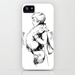 Le Petit Prince Vector iPhone Case