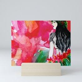 Polynesia Mini Art Print