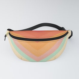 Rainbow Chevrons Fanny Pack