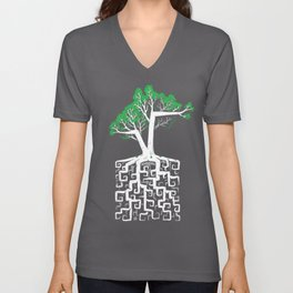 Square Root Unisex V-Neck