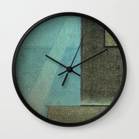 aquarius Wall Clocks featuring Aquarius by Fernando Vieira