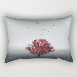 the RED tree ll Rectangular Pillow
