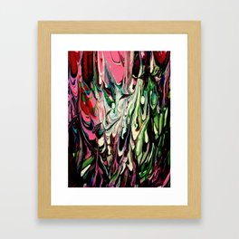 Psychedelic Flow Framed Art Print