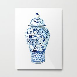 GINGER JAR NO 7  Metal Print