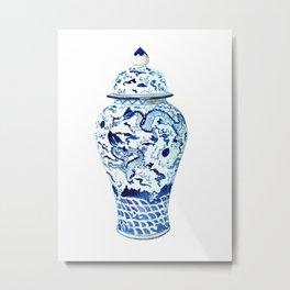 GINGER JAR NO 7  Metal Print
