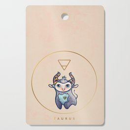 Baby Taurus - Baby Zodiac Collection Cutting Board
