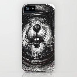 Mr. Beaver iPhone Case