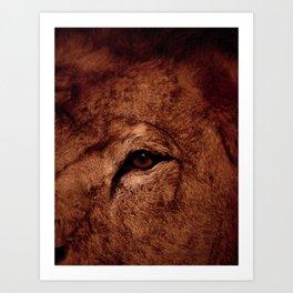 Safari de salon Art Print