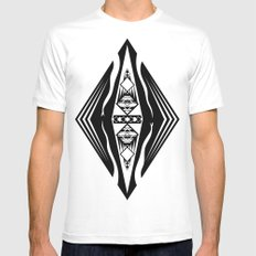 2013: Year of the Snake White MEDIUM Mens Fitted Tee