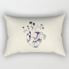 Garden of Flowers growing in my heart Rectangular Pillow