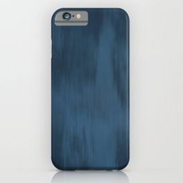 Blue Abstract Fusion Watercolor Blend Pairs To 2020 Color of the Year Chinese Porcelain PPG1160-6 iPhone Case