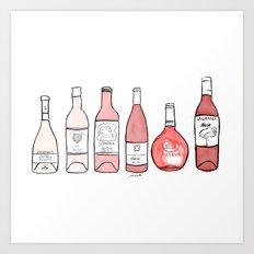 Summer of Rose Art Print