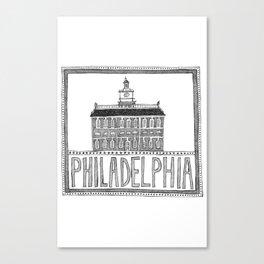 Philadephia Canvas Print
