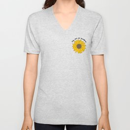 Sunflower Power Unisex V-Neck