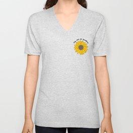Sunflower Power Unisex V-Neck