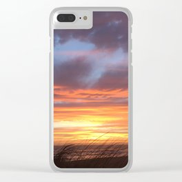 Ocean Dunes Clear iPhone Case