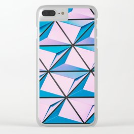 Cubes Clear iPhone Case