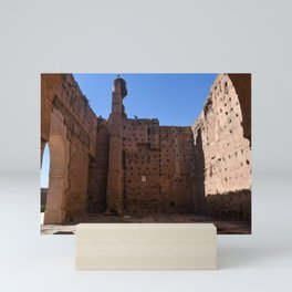 Ruins of El Badii (Marrakech) Mini Art Print