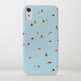 Dusty blue II iPhone Case