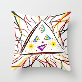 Trina Triangle Throw Pillow